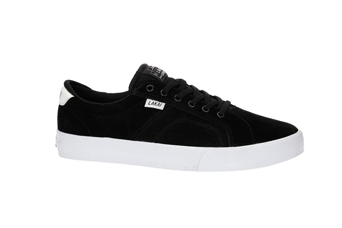 Lakai Flaco Suede Schuh (black white)