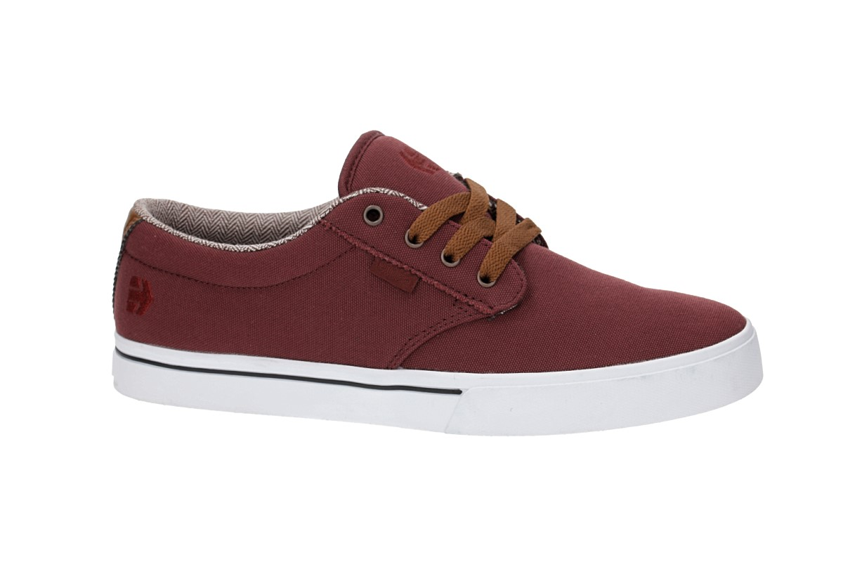 Etnies Jameson 2 Eco Shoes (burgundy tan)