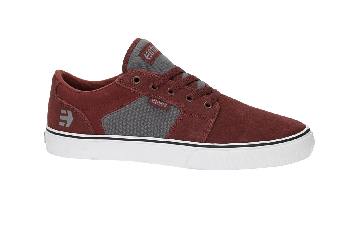 Etnies Barge LS Shoes (red grey)