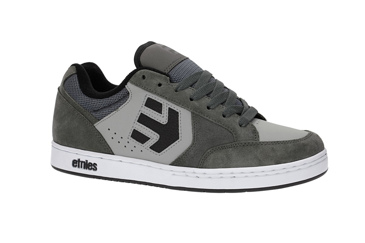 Etnies Swivel Schoen (grey black white)