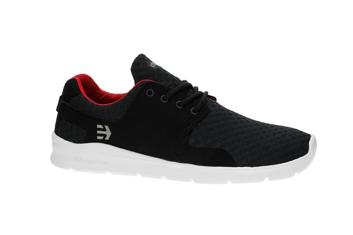 Etnies Scout XT Schuh (black white red)