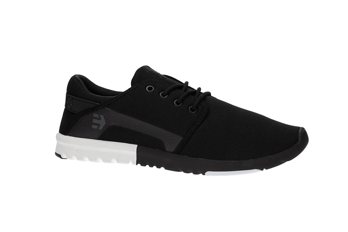 Etnies Scout Schuh (black white white)