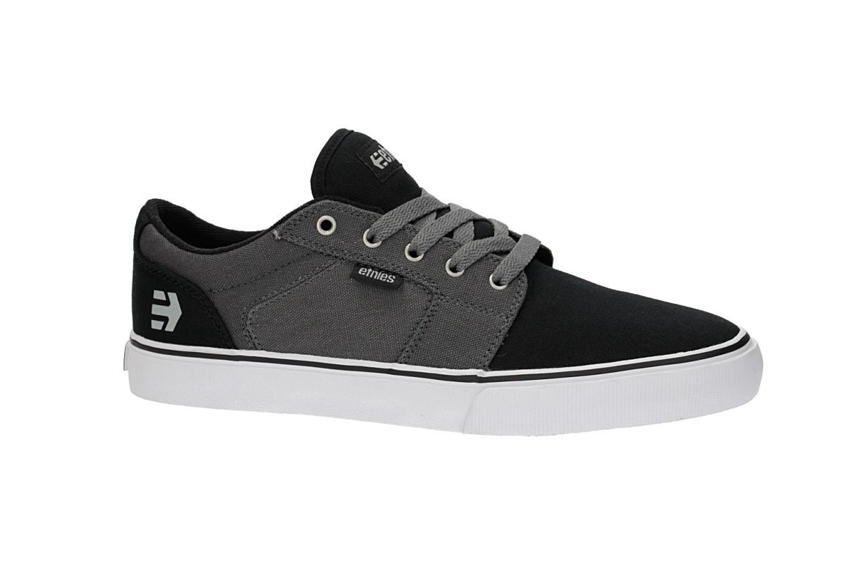 Etnies Barge LS Schuh (black grey silver)