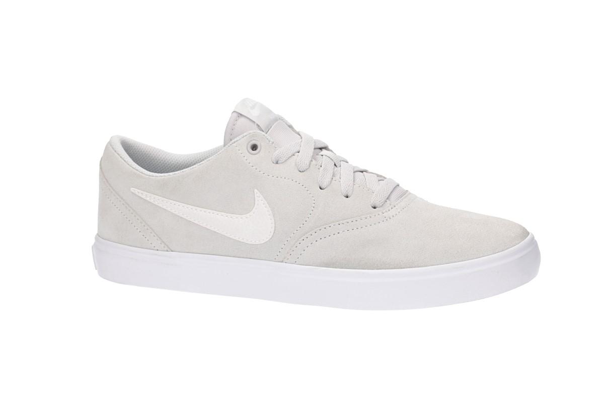 Nike SB Check Solarsoft Scarpa (vast grey white)