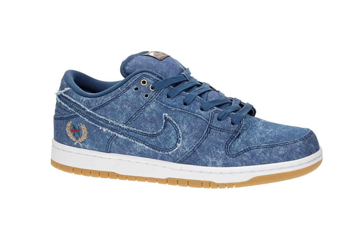 Nike SB Dunk Low QS Scarpa (hydrogen blue white)