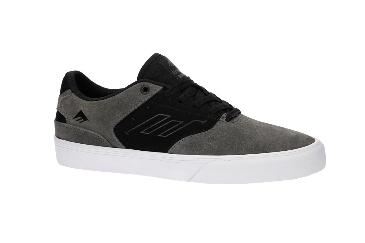 Emerica-The Reynolds Low Vulc, Color: Black/White/Red, Size: 43 EU (10 US / 9 UK)