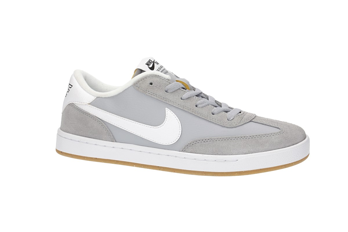 22658d759db Nike SB FC Classic Shoes (wolf grey white) buy at skatedeluxe
