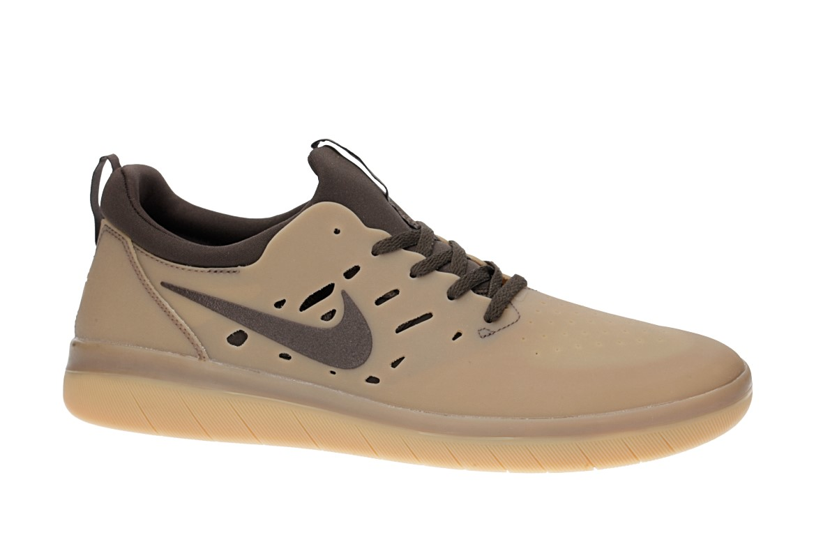 Nike SB Nyjah Free Chaussure (gum dark brown)