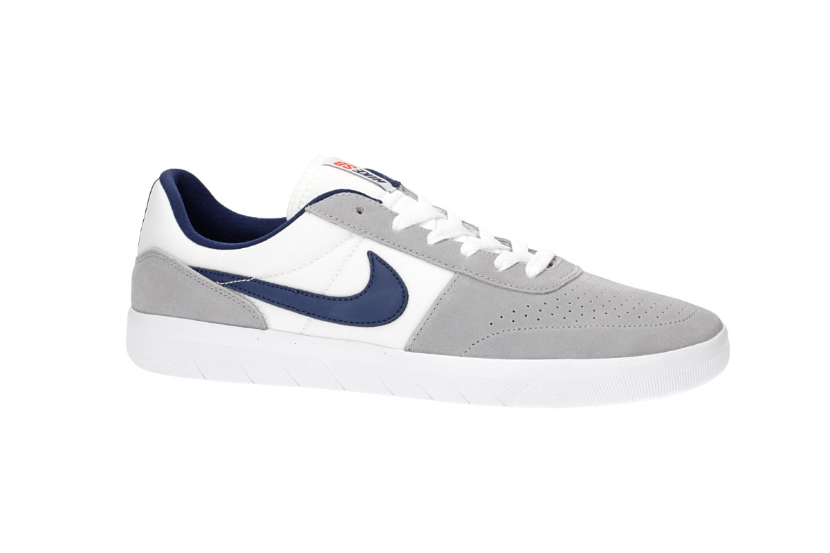 Nike SB Team Classic Shoes (wolf grey blue void white orange)