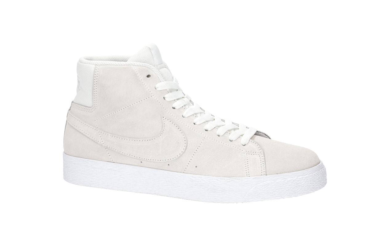 Nike SB Zoom Blazer Mid Deconstructed Shoes (summit white)