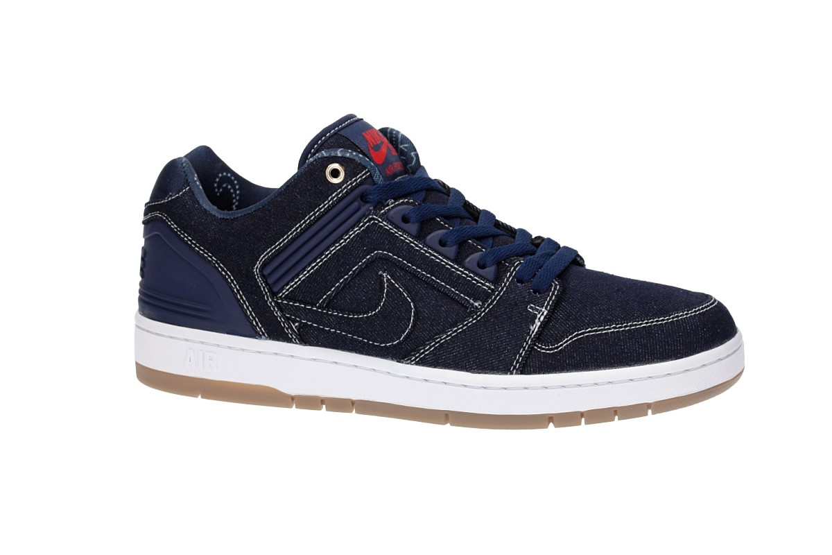 Nike SB Rivals Air Force II Low QS Shoes (squadron blue white)