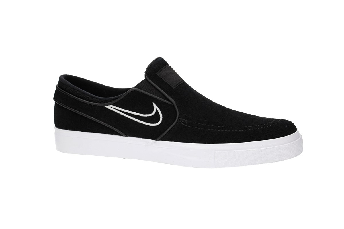 Nike SB Zoom Stefan Janoski Slip Schoen (black light bone)