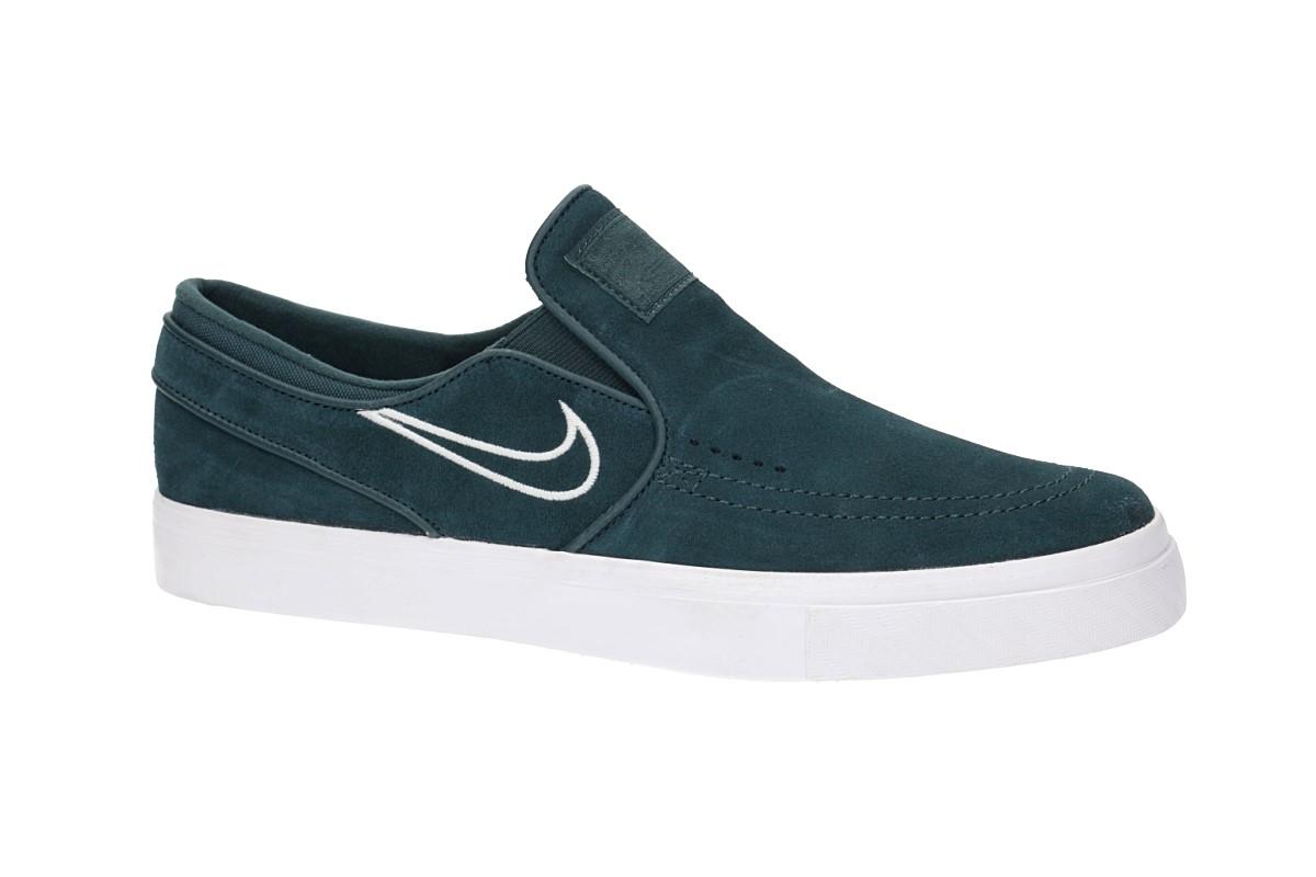 Nike SB Zoom Stefan Janoski Slip Shoes (deep jungle barely grey)