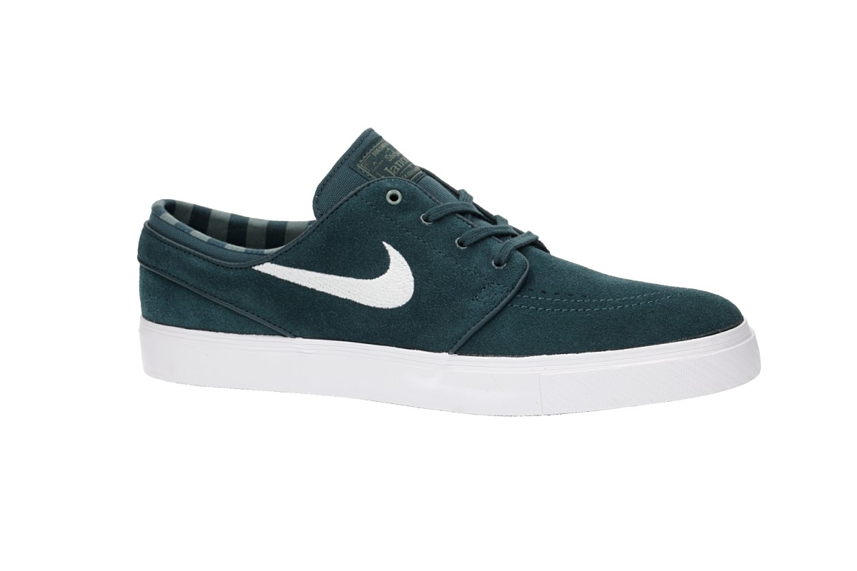 Nike SB Zoom Stefan Janoski Shoes (deep jungle white clay green whi)