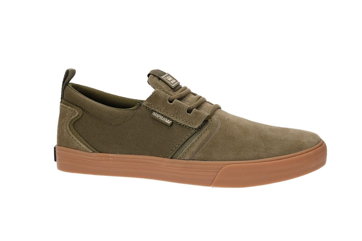 Supra Flow Shoes (olive gum)