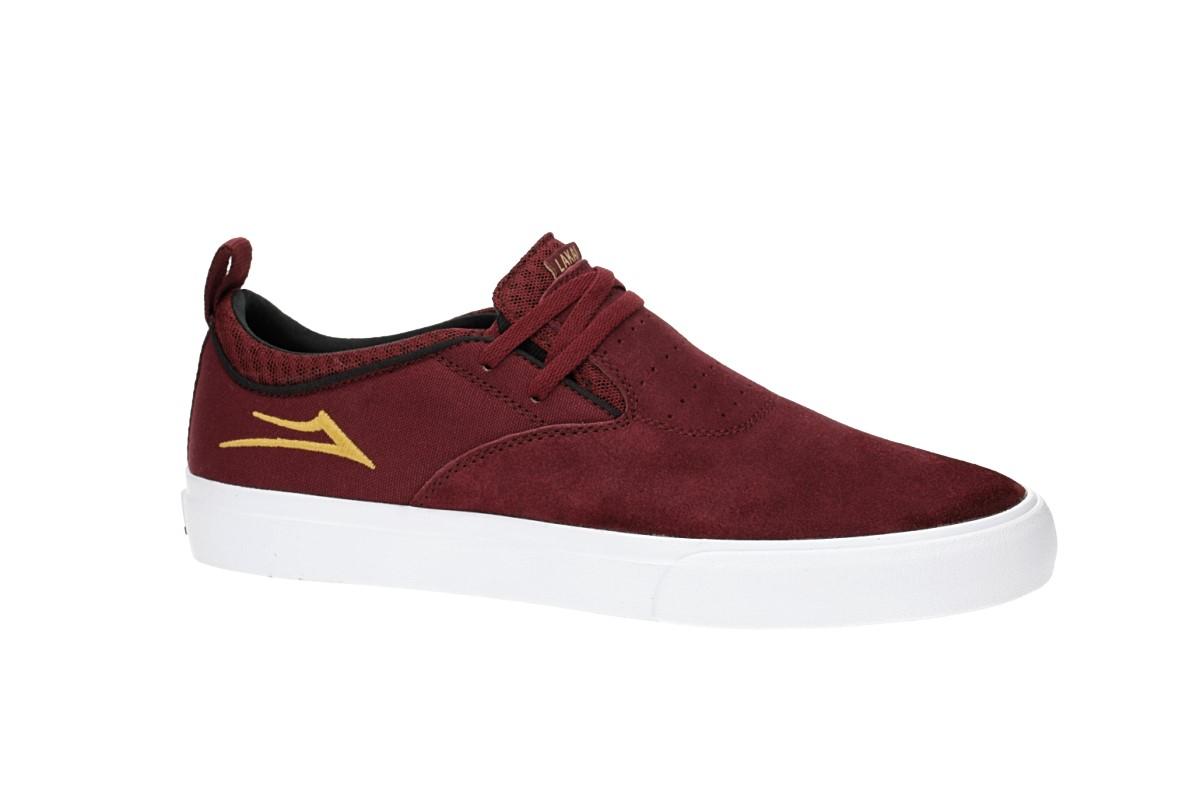 Lakai Riley 2 Suede Shoes (burgundy)
