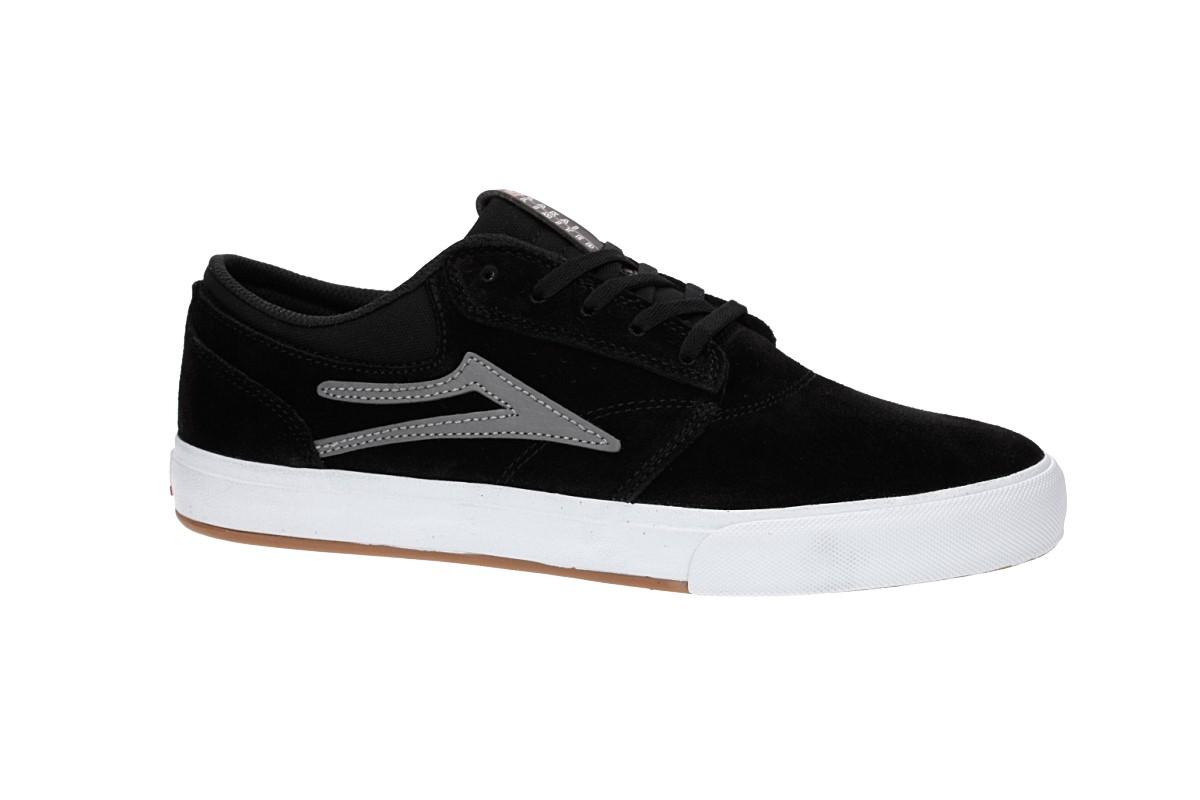 Lakai Griffin Suede Shoes (black grey 2)