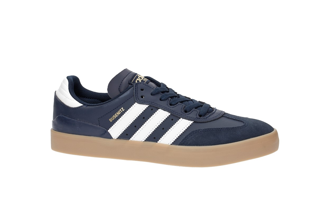 f41e53fa151 adidas Skateboarding Busenitz Vulc RX Shoes (collegiate navy white ...