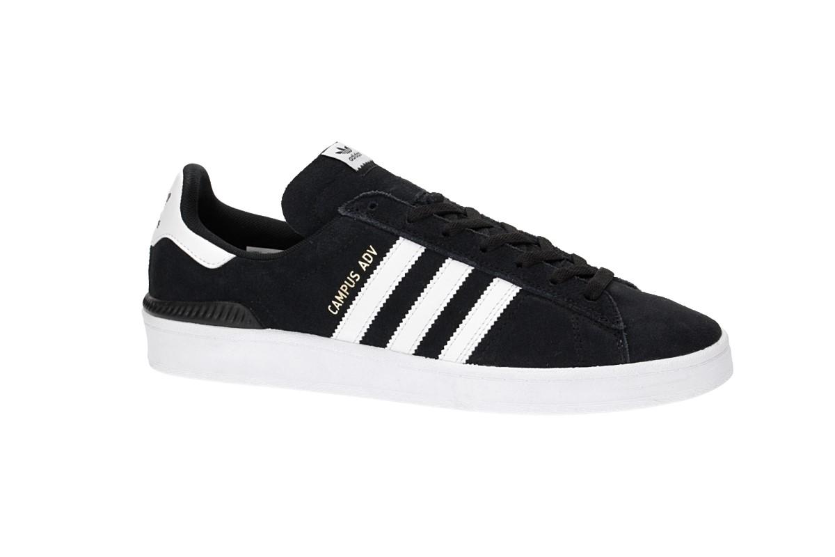 adidas Skateboarding Campus ADV Schoen (core black white white)