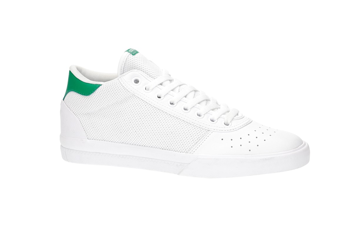 adidas Skateboarding Lucas Premiere Mid Shoes (white white green ... 7b561cbe8