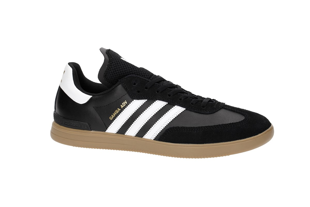 adidas Skateboarding Samba ADV Schuh (core black white)