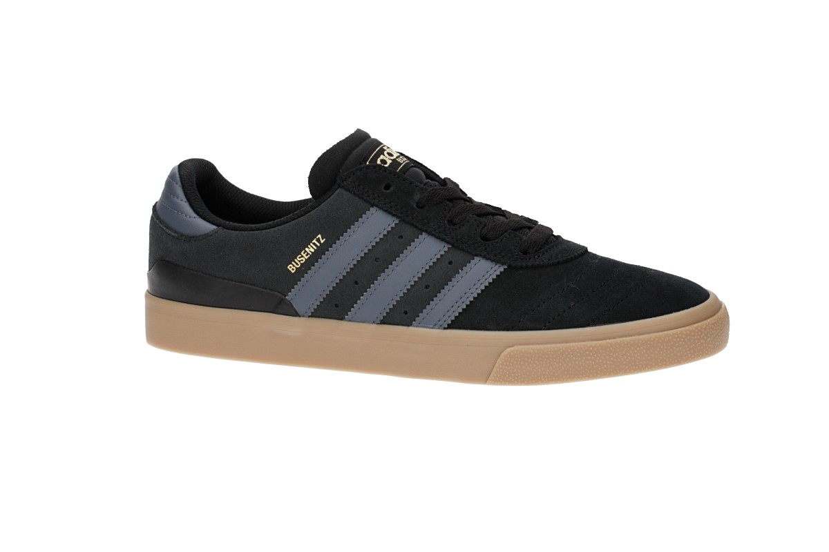 adidas Skateboarding Busenitz Vulc Shoes (core black onix gum)