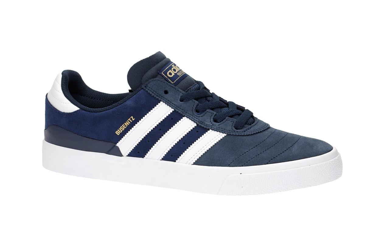 adidas Skateboarding Busenitz Vulc Schoen (collegiate navy white dark blue)