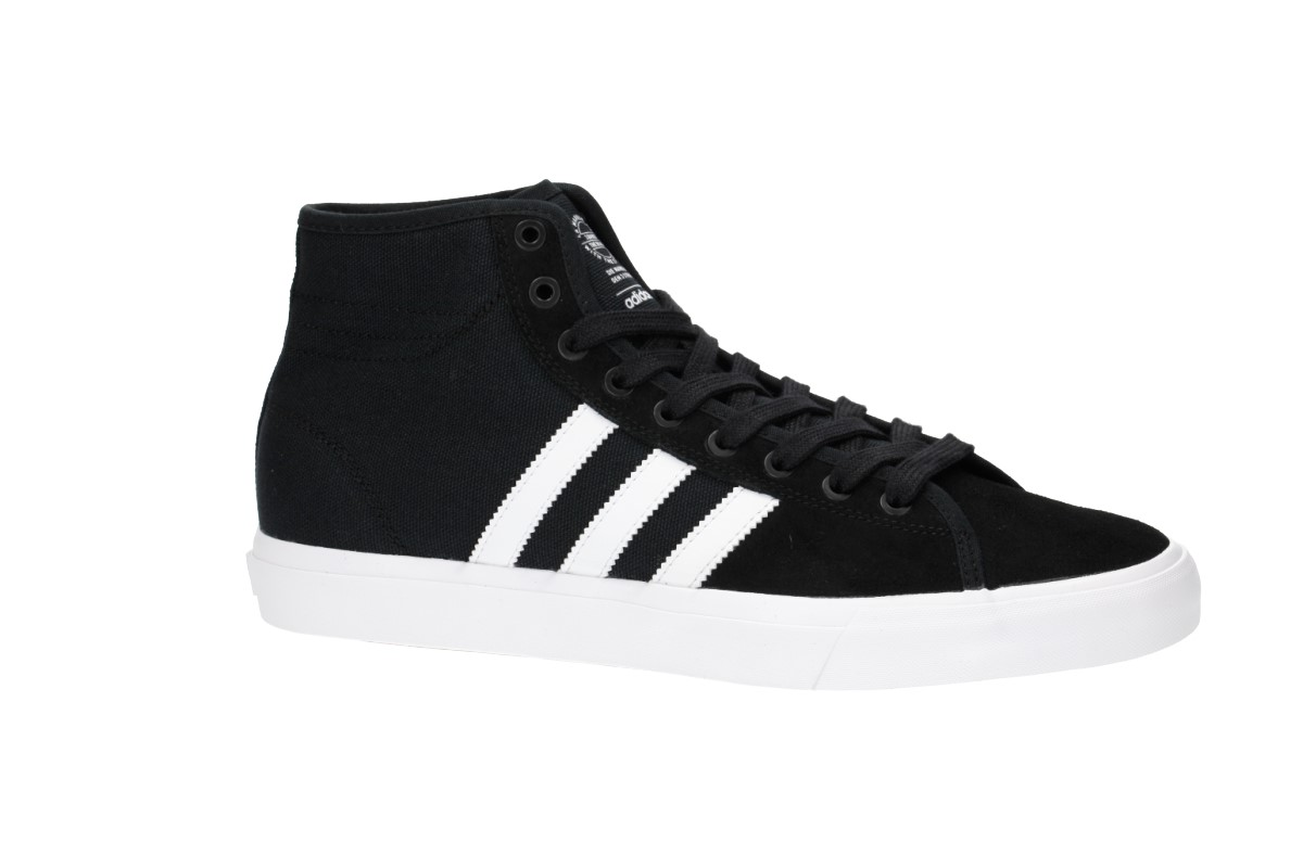 adidas Skateboarding Matchcourt High RX Schuh (core black white gum)
