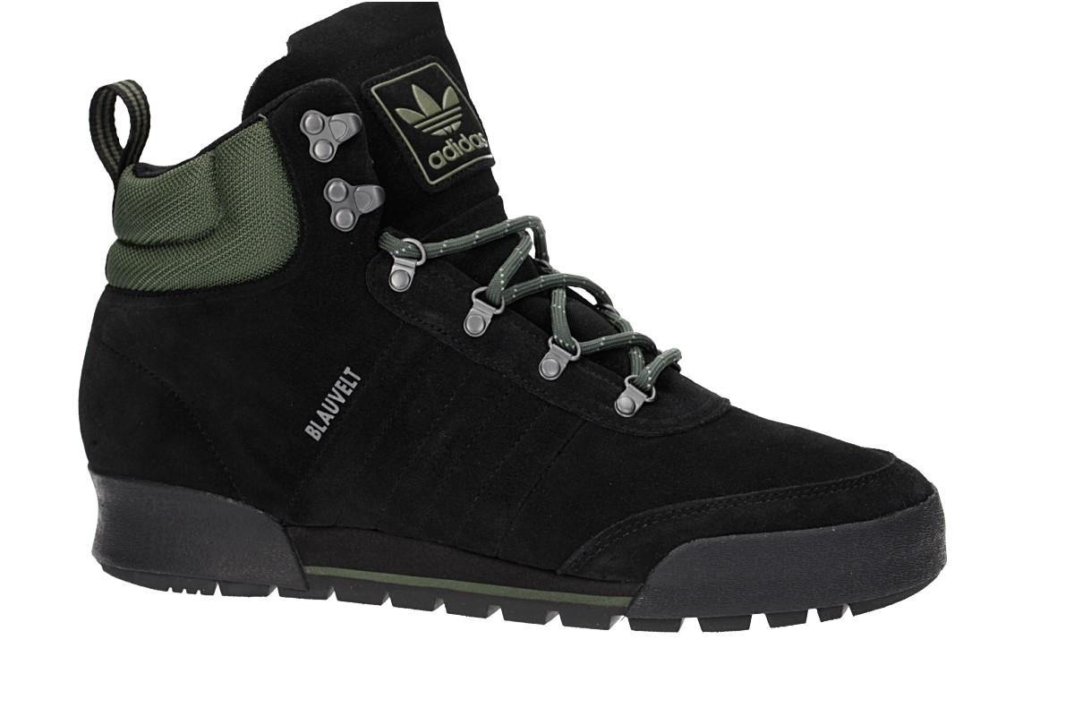 adidas Skateboarding Jake Boot 2.0 Schuh (core black base green core black)