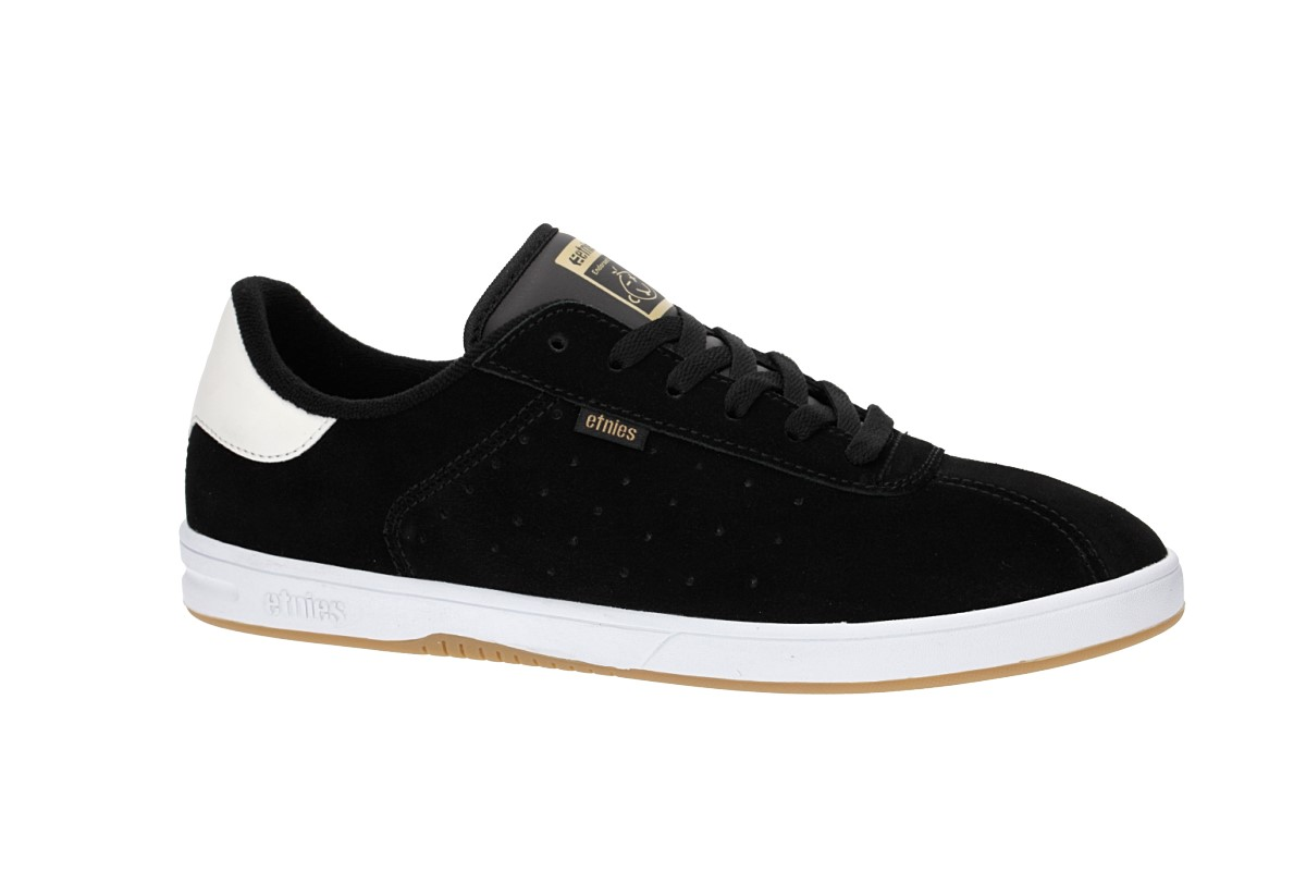 Etnies The Scam Shoes (black white gum)