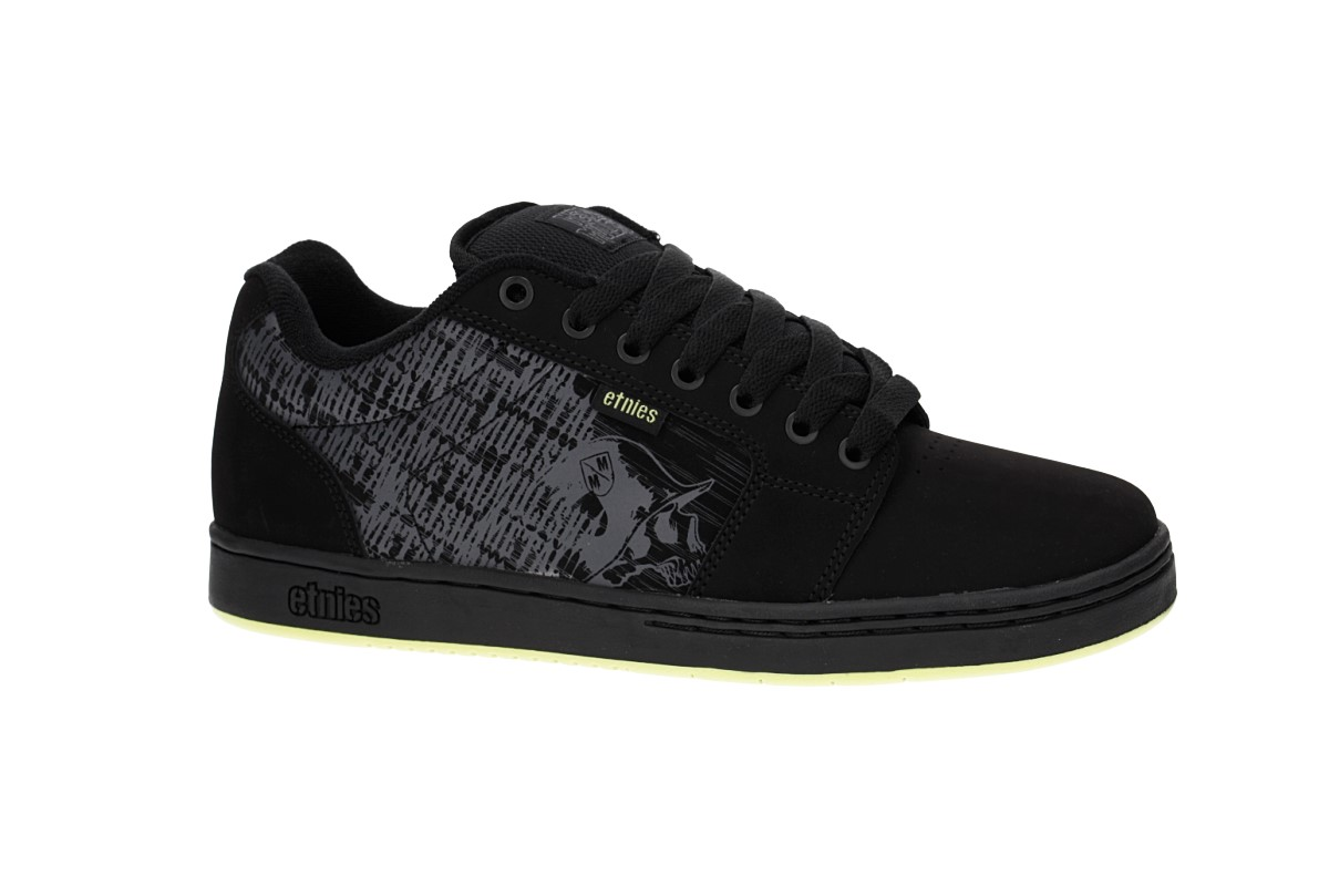 Etnies Metal Mulisha Barge XL Schuh (black lime)
