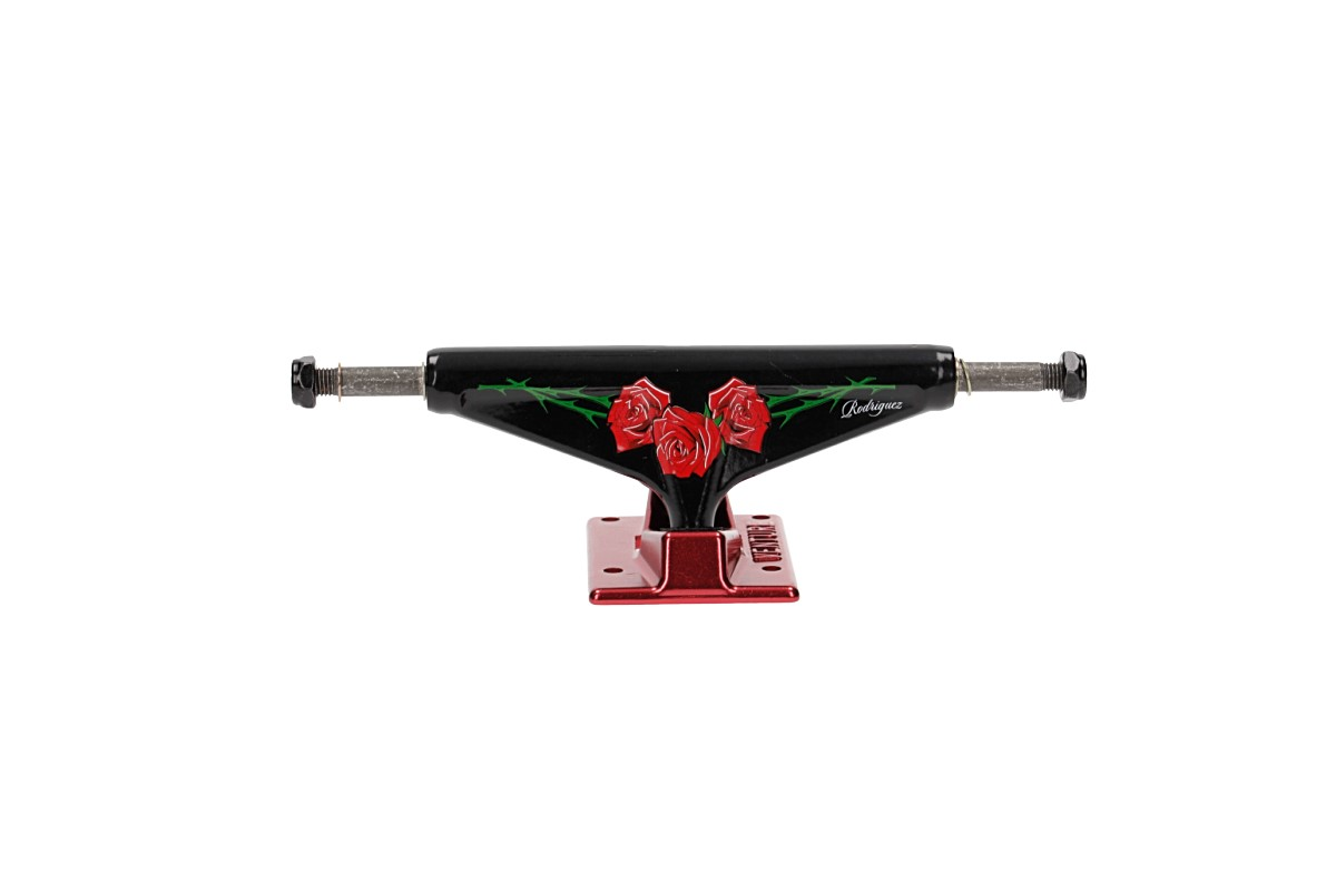 "Venture Trucks V-Hollow Lights Rodriguez Roses High 5.25"" Achse (black red)"