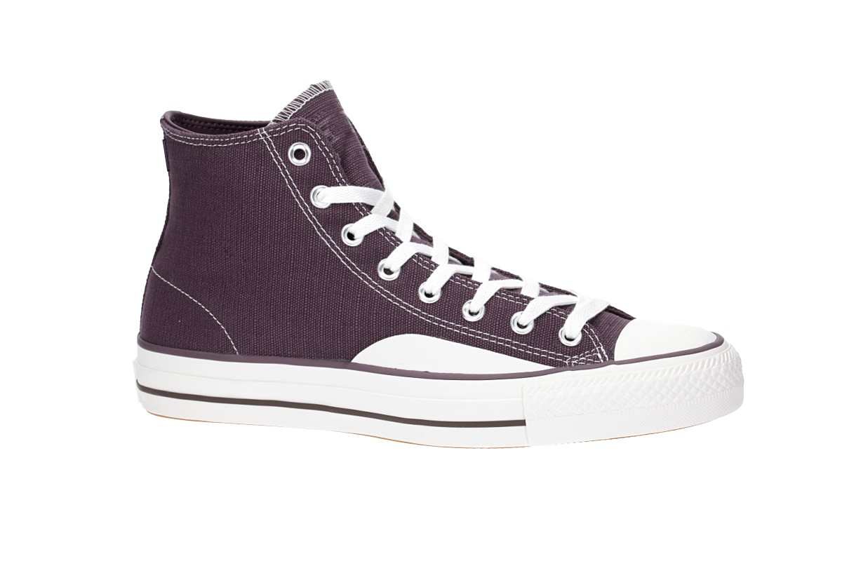 bd14b4efeda Converse Chuck Taylor All Star Pro Hi Shoes (dusk purple vintage white gum)