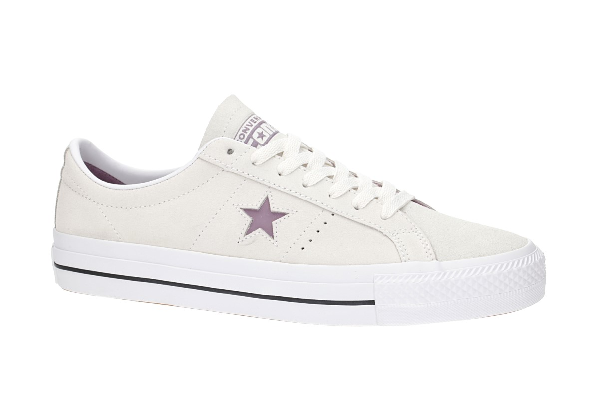 Converse One Star Pro Chaussure (egret violet dust white)