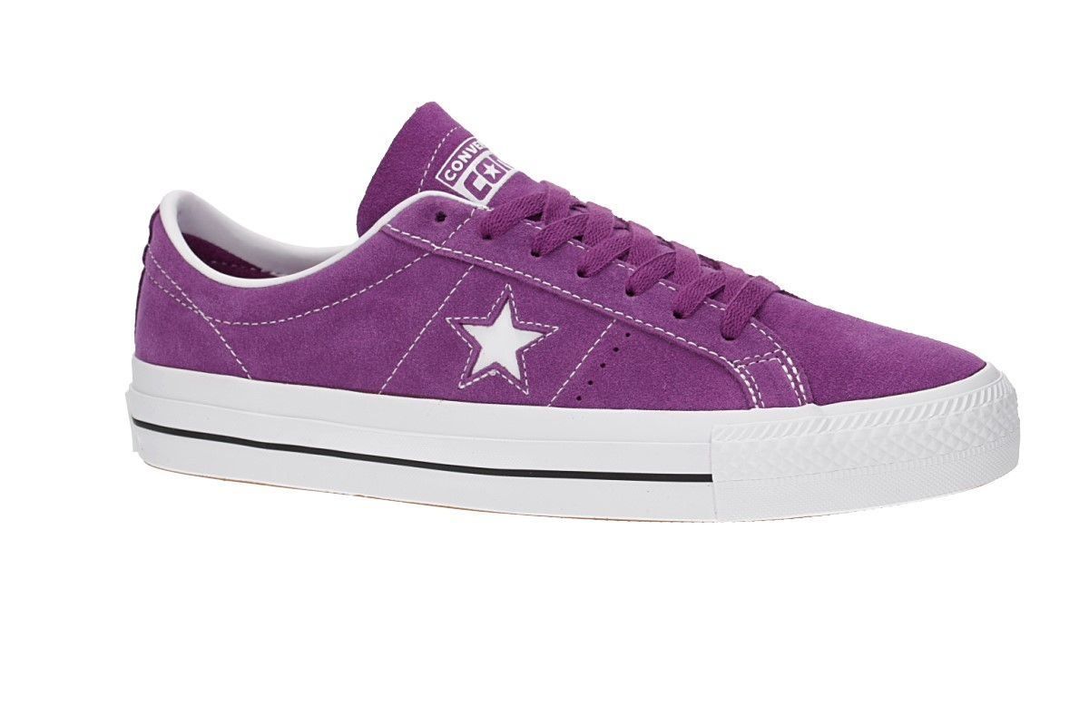 Converse One Star Pro Chaussure (icon violet white white)
