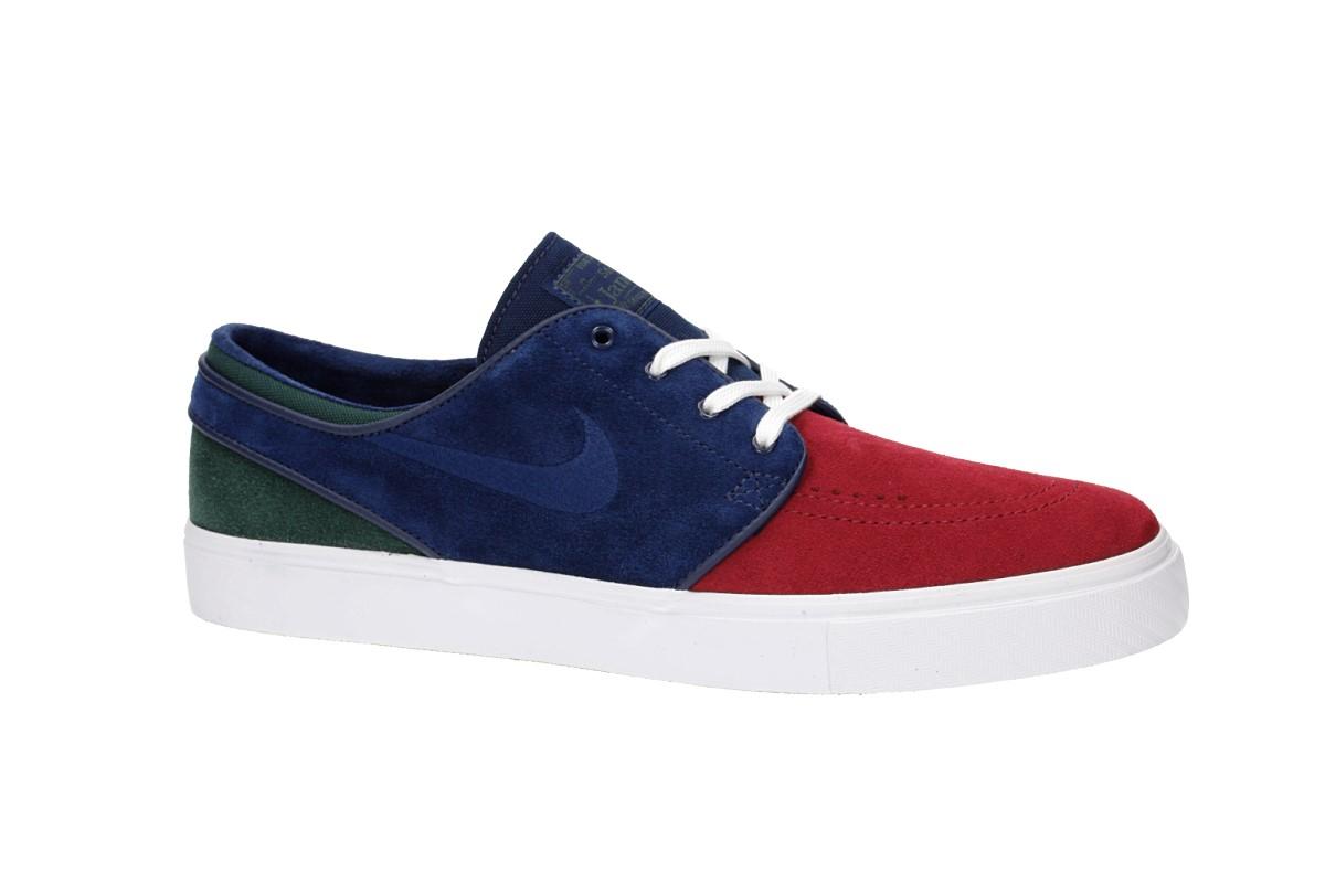 e4700eacc50a8 Nike SB Zoom Stefan Janoski Shoes (red crush blue void)