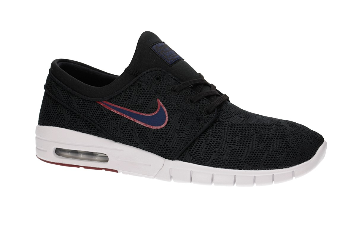 Nike SB Stefan Janoski Max Chaussure (black blue void)