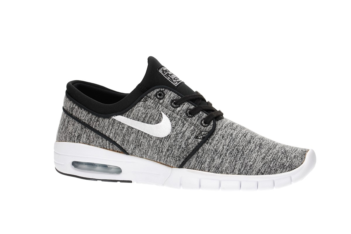 Nike SB Stefan Janoski Max Shoes (black white grey)