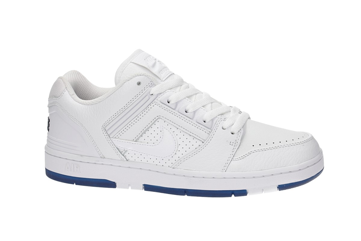 Nike SB Air Force II Low Kevin Bradley QS Shoes (white white blue void)