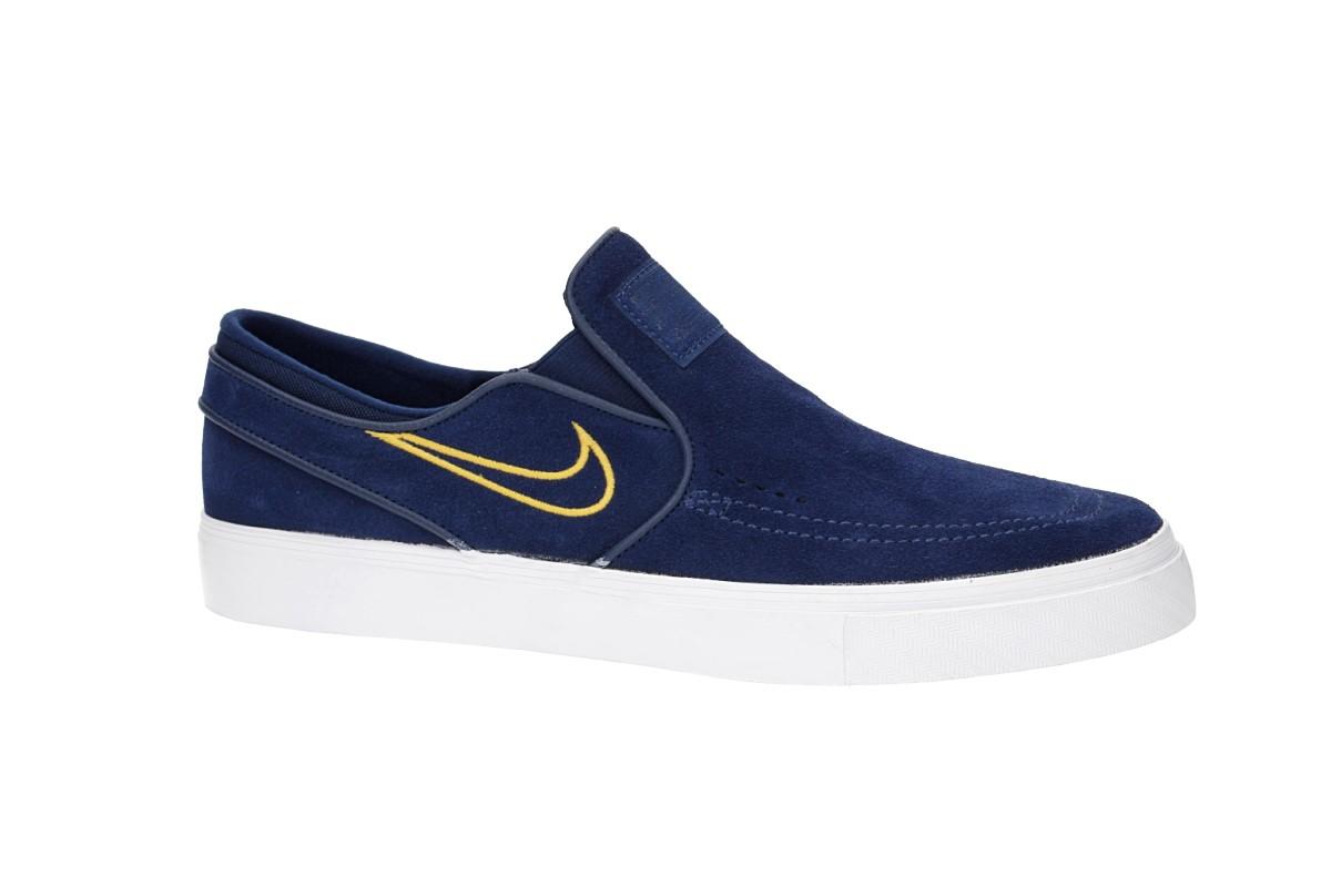 Nike SB Zoom Stefan Janoski Slip Scarpa (blue void yellow ochre)