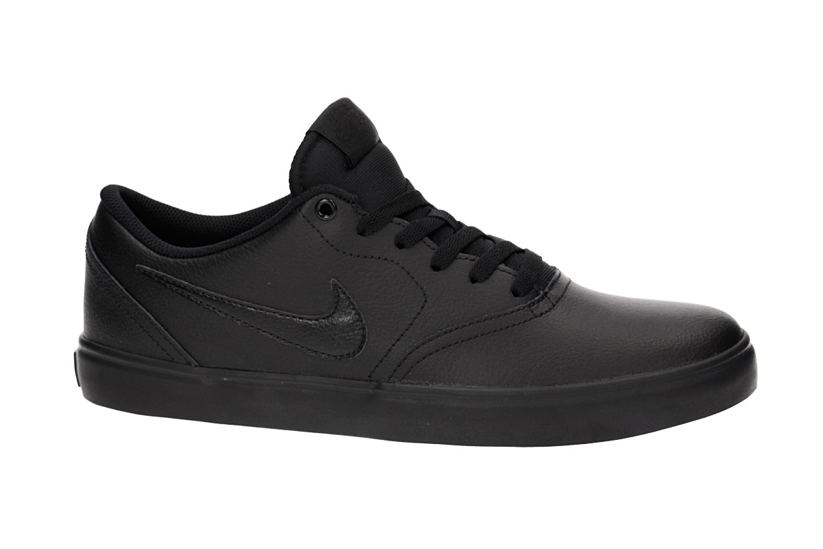 52d2f39f8791 Nike SB Check Solarsoft Shoes (black black black) buy at skatedeluxe