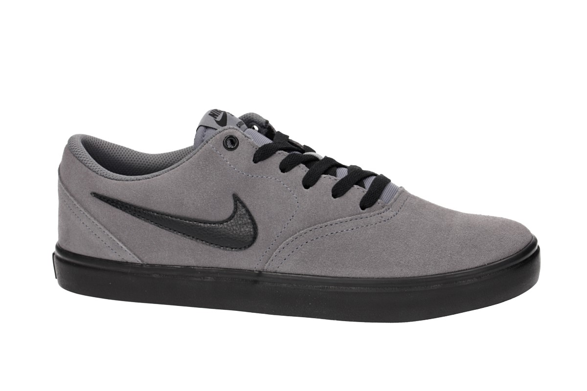 Nike SB Check Solarsoft Shoes (gunsmoke black)