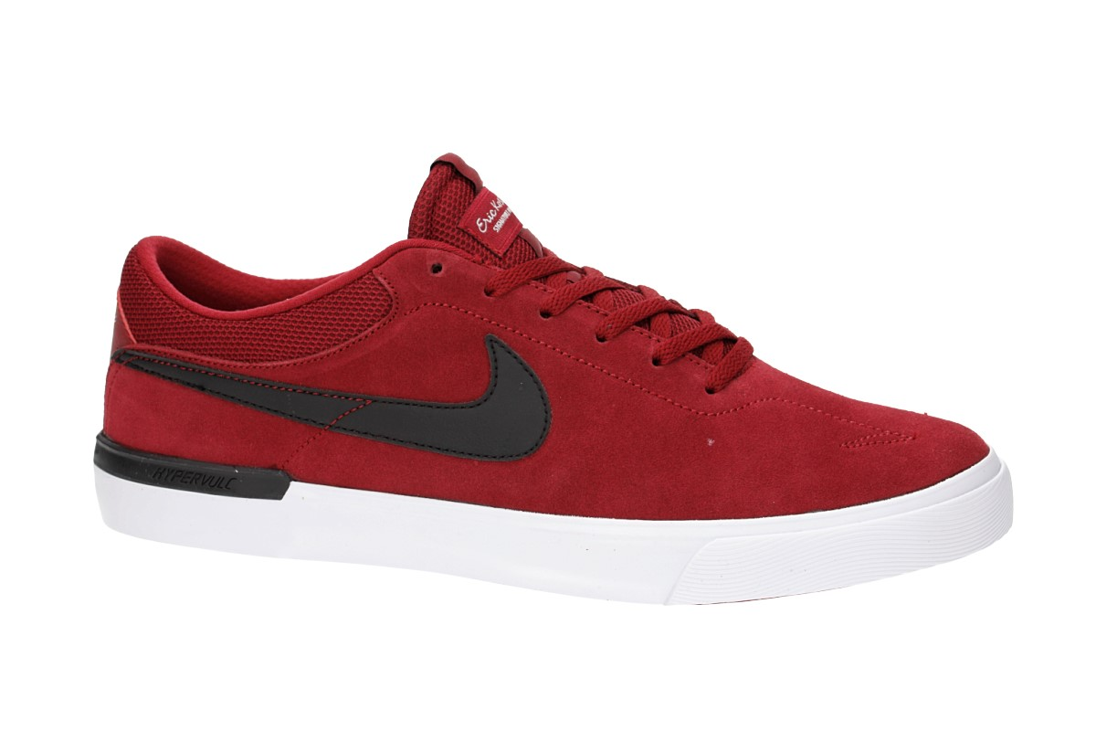 7d7a13a43 Nike SB Koston Hypervulc Shoes (red crush black) buy at skatedeluxe