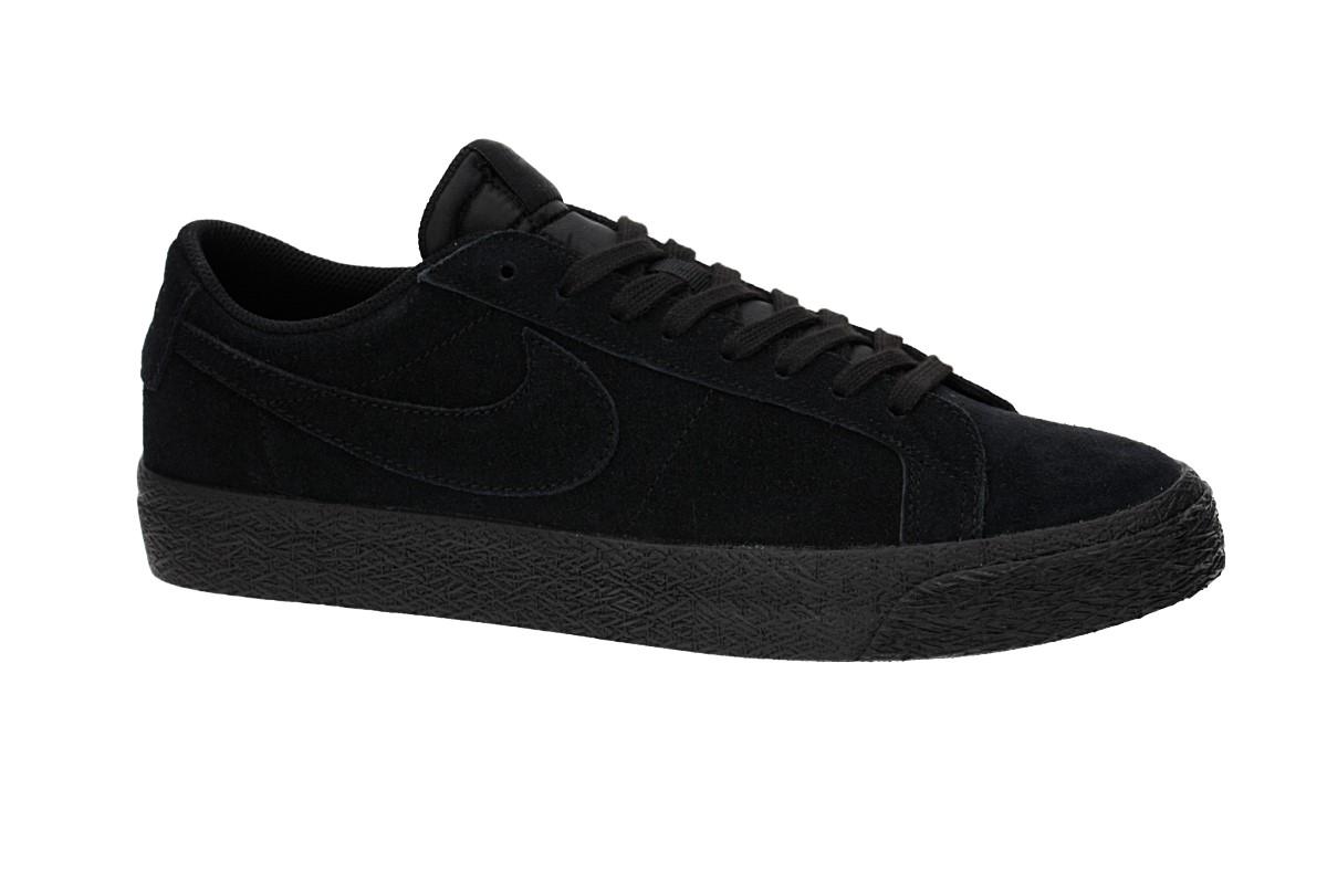 Nike SB Zoom Blazer Low Chaussure (black black gunsmoke)