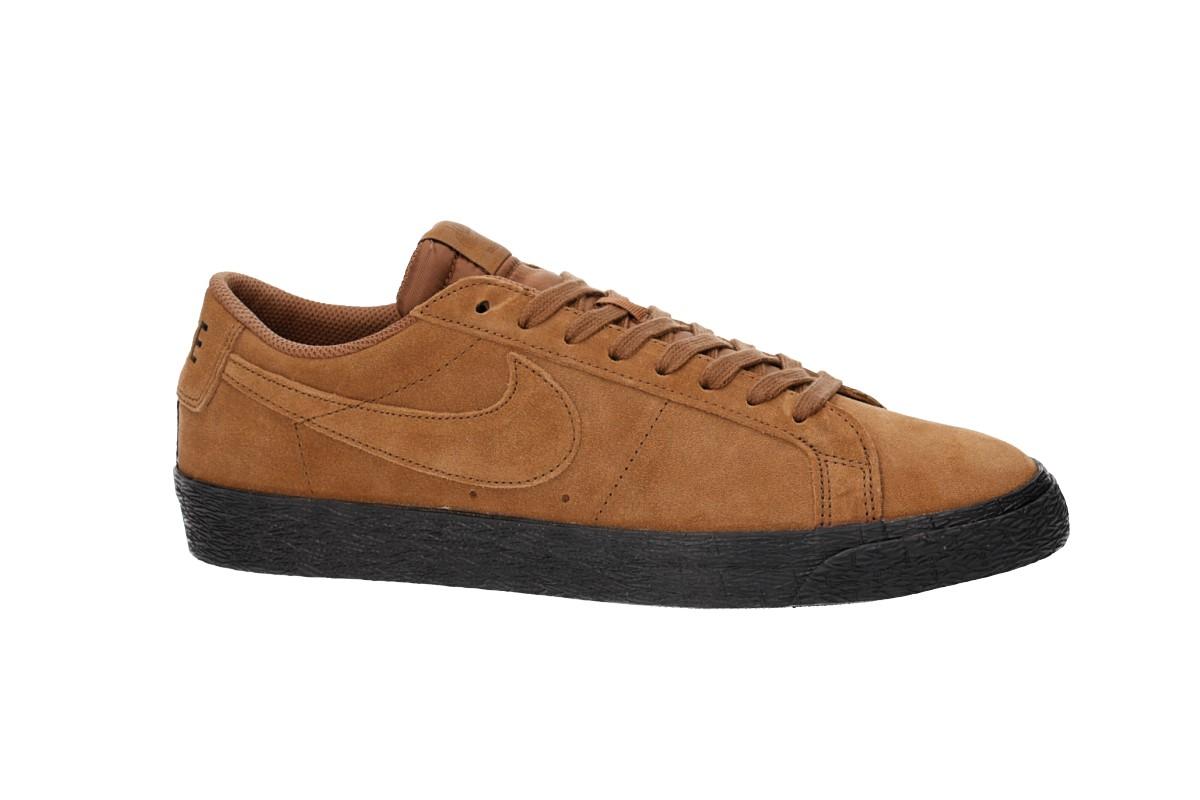 Nike SB Zoom Blazer Low Schuh (light british tan black)