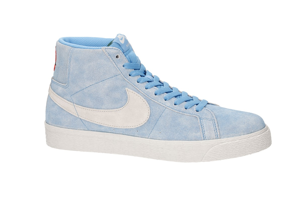 23c1a537c702 Nike SB x Lance Mountain Zoom Blazer Mid Shoes (university blue light bone)