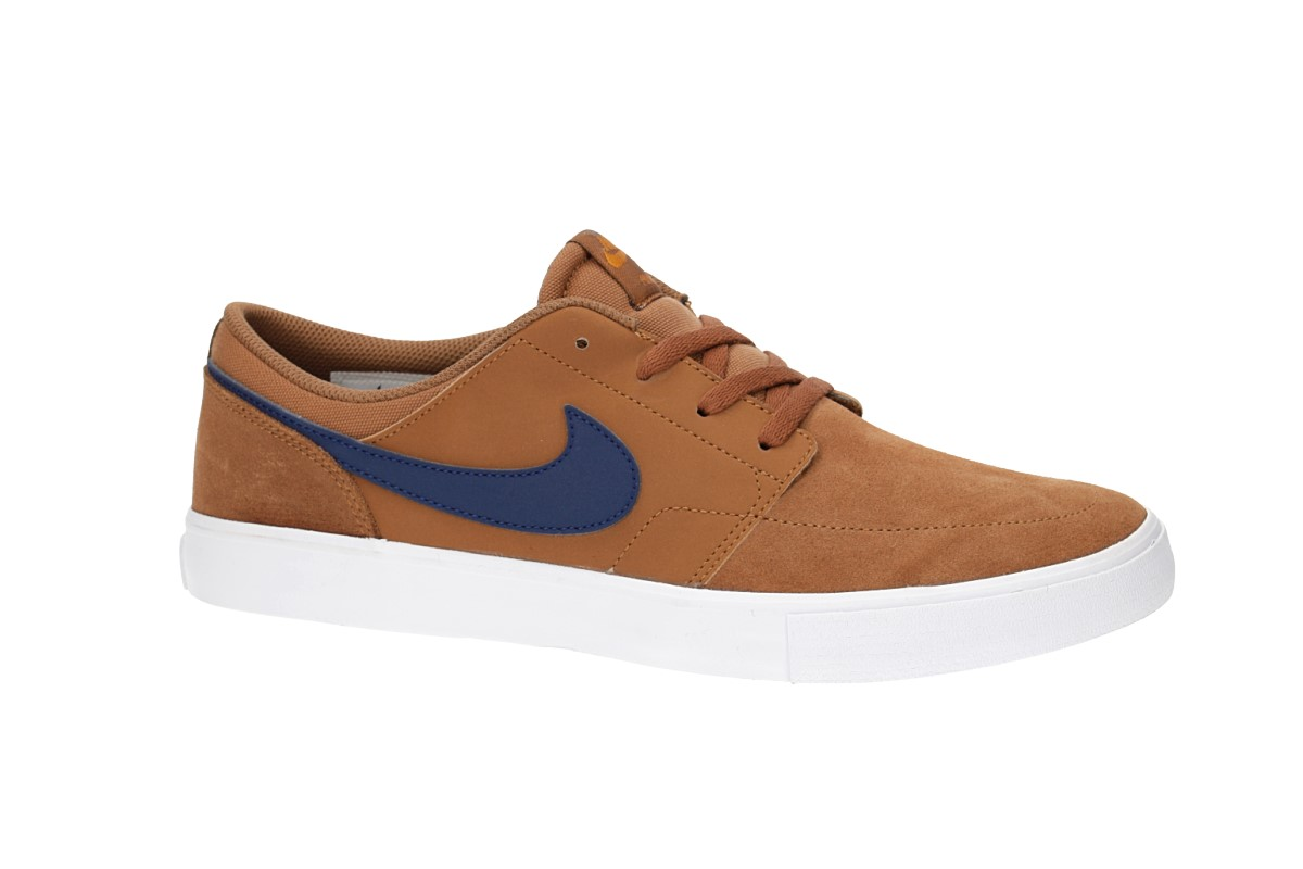 Nike SB Solarsoft Portmore II Chaussure (light british tan)