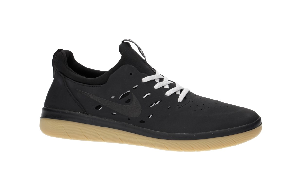 Nike SB Nyjah Free Shoes (black gum light brown)