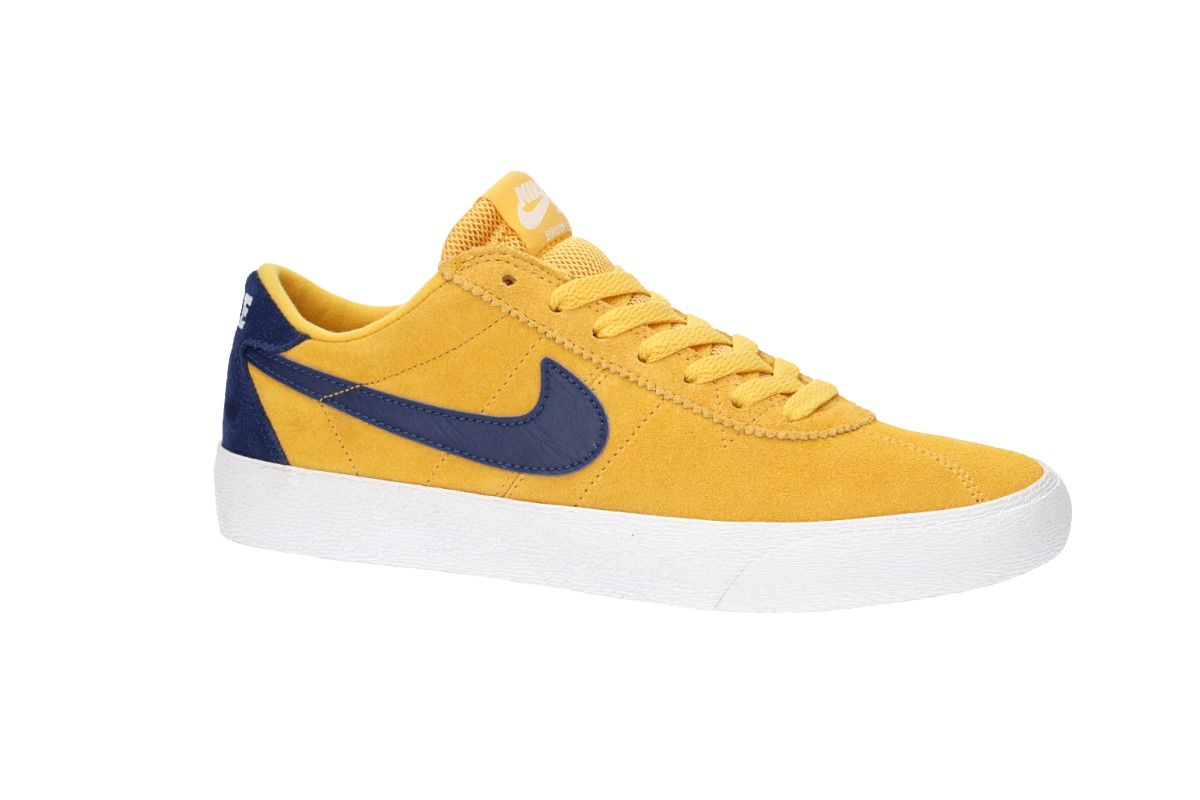 f20c5e3759b7 Nike SB Bruin Lo Shoes women (yellow ochre blue void) buy at skatedeluxe