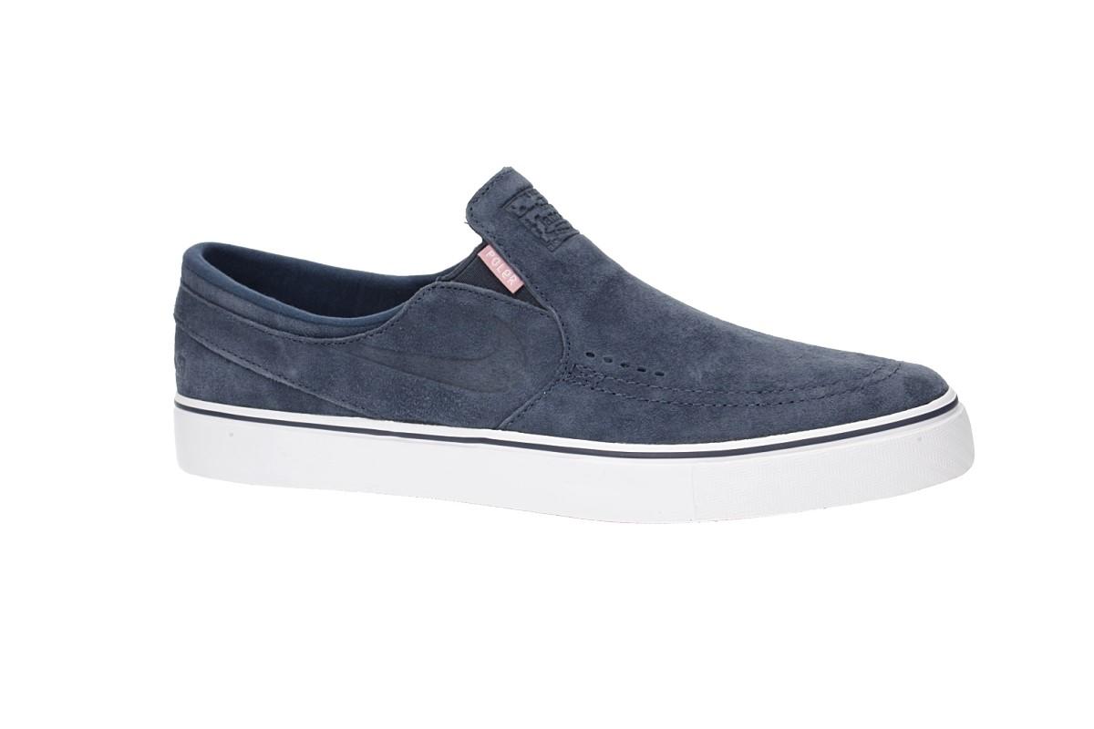 Nike SB x Poler Zoom Stefan Janoski Slip QS Shoes (thunder blue)